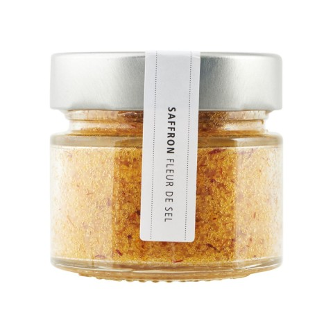 Salt - Fleur de Sel m. safran
