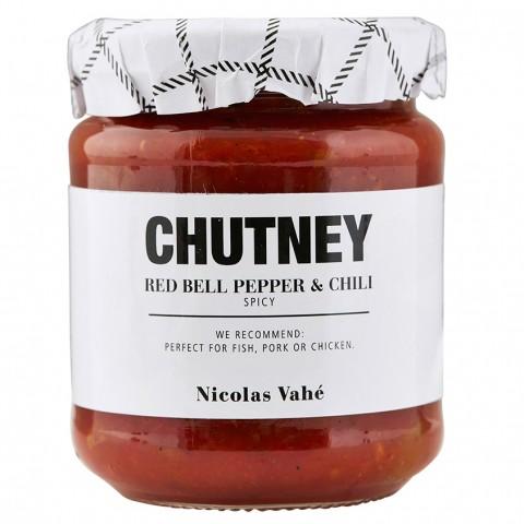 Chutney - rød peber & chili